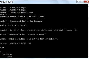 如何通过串口进服务器以Oracle X6-2为例