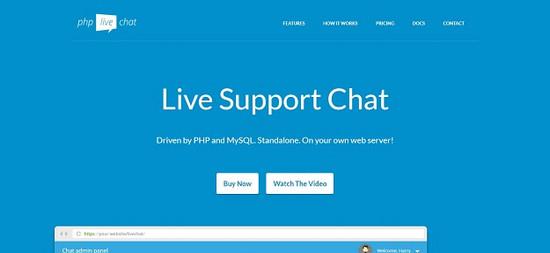 2020最新版经典在线客服 php live chat pro