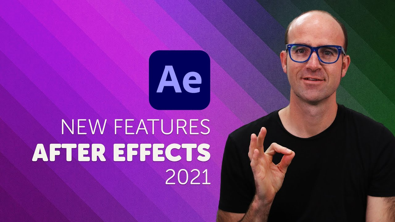 Adobe After Effects CC 2021 New Features & Updates! - YouTube